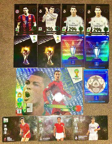 580 kart piłkarskich  2014/2015