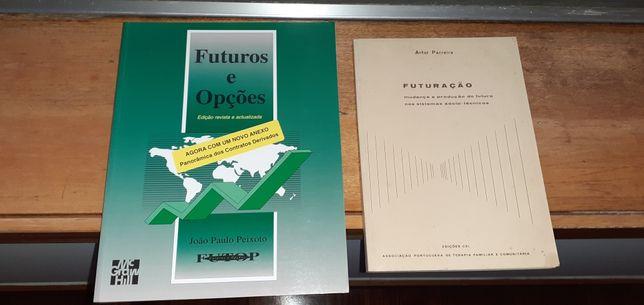 2 livros de economia e gestão