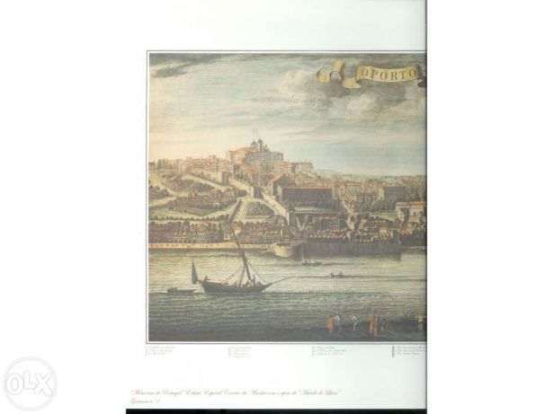 Gravura Antiga do Porto (portes incluídos)
