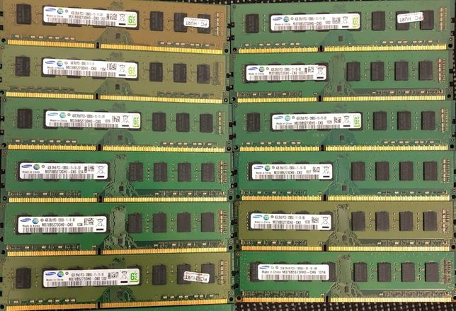 Оперативная память Samsung 4Gb DDR3 1R 1600 PC3 12800 ПК intel amd бу