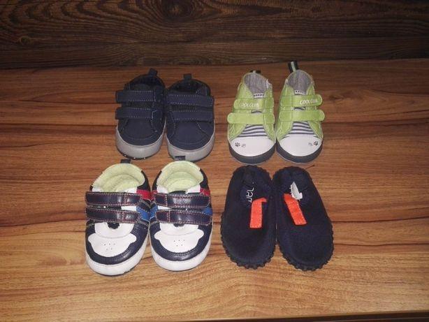 Buciki niechodki adidasy r.20 Tenisówki buty do wody kapcie 6-12 mc