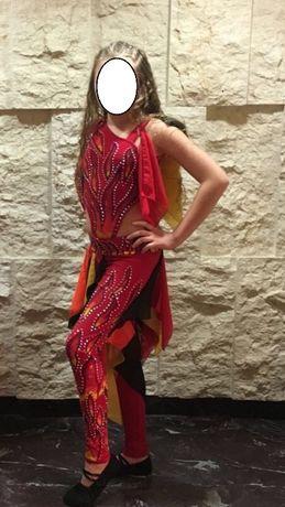 Костюм платье для восточных танцев.
