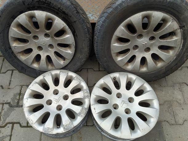 """Alufelgi Felgi Aluminiowe Citroen Peugeot 4x108 15"""" ET 18 4 Sztuki"""
