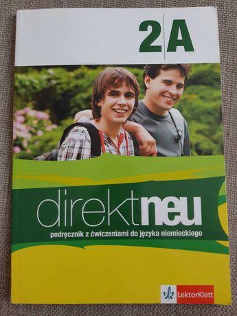 Direktneu 2A podręcznik i ćwiczenia do j. Niemieckiego +CD