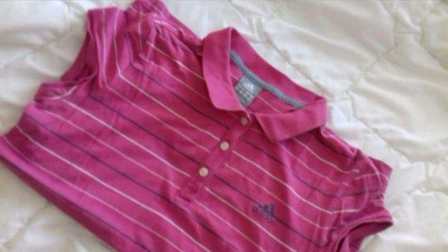 Koszulka adidas róż M