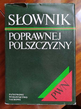 Słownik poprawnej polszczyzny pod redakcją W. Doroszewskiego