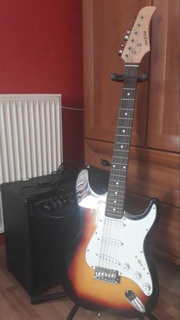 Gitara wzmacniacz z multiefektem