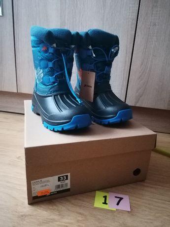 Buty zimowe/ śniegowce, rozmiar 33 NOWE (17)