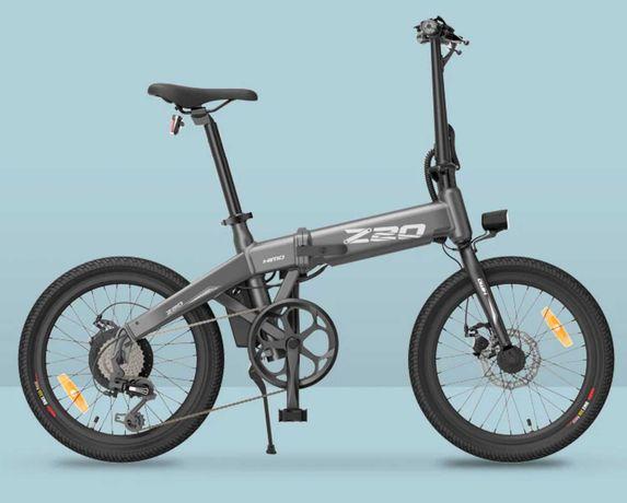 Bicicleta Compacta Dobrável Eléctrica Nova Z20 - Autonomia até 80km