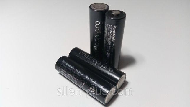 Аккумулятор (ОРИГИНАЛ) Panasonic eneloop pro AA (min 2500mAh) Ni-M
