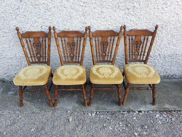 Krzesła drewniane / antyk
