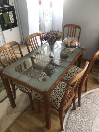 Продам стіл та стільчики