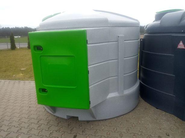 Dwupłaszczowy Zbiornik do paliwa Fortis 5000 L nowy ON Diesel