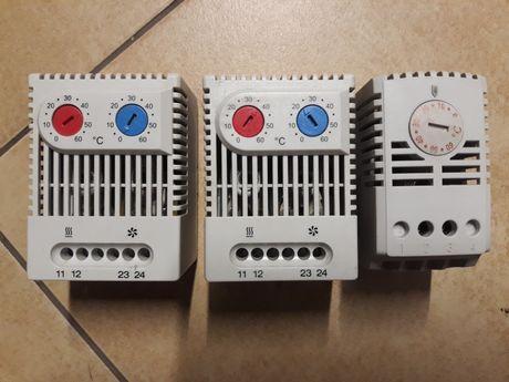 Termostat TOS60 termostat podwójny NO+NC