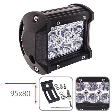 Фара прожектор LML-C2018F FLOOD (6led*3w 95х80мм) (C2018F F)