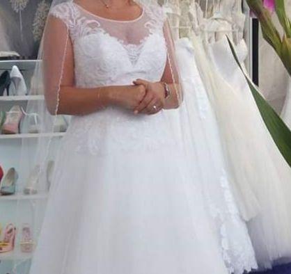 Nowoczesna suknia ślubna
