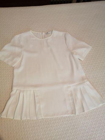 Vendo blusa senhora da Zara branca como nova