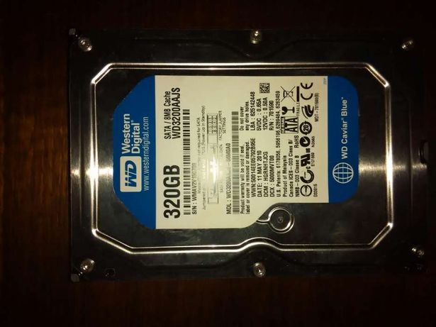 Disco Sata 3.5 320 Gb