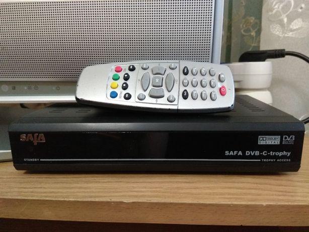 Кабельный DVB-C HDTV тюнер/ресивер/приёмник/декодер Trophy TA-1001HD