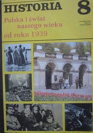 HISTORIA, POLSKA I ŚWIAT NASZEGO wieku, Szcześniak, książka