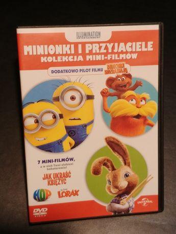 Film dvd bajka dla dzieci minionki
