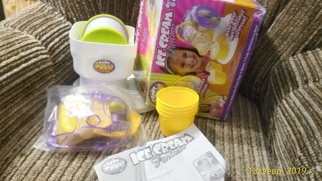Детский набор для изготовления мороженного