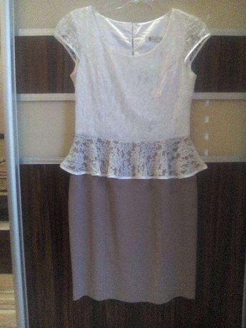 Elegancka wizytowa Sukienka wesele komunia 38 40 Laura Sorrenti gratis