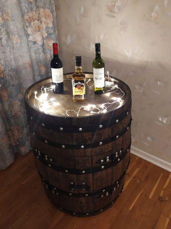 Beczka debowa - barek na Twoje alkohole