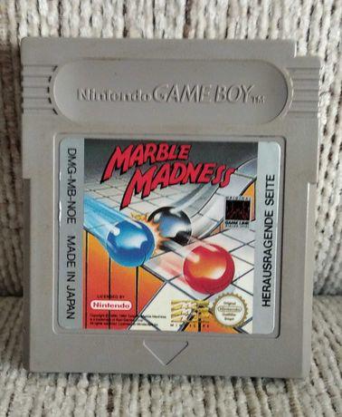 Nintendo GameBoy GB - gra Marble Madness