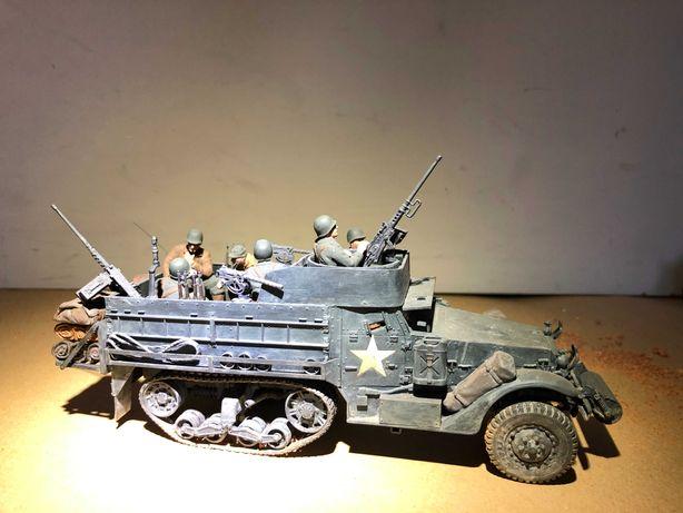 AGORA Figura militar segunda guerra mundial - miniatura veículo M3