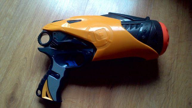 pistolet nerf automatyczny 10 strzałów na baterie b duży pneumatyczny