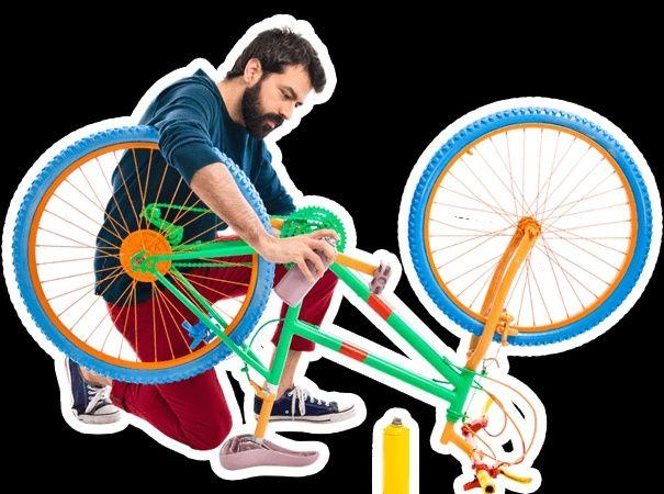 Ремонт bmx и mtb горных велосипедов.
