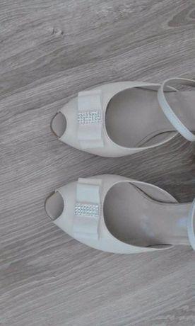 Sprzedam buty ślubne witt - obcas 5 cm