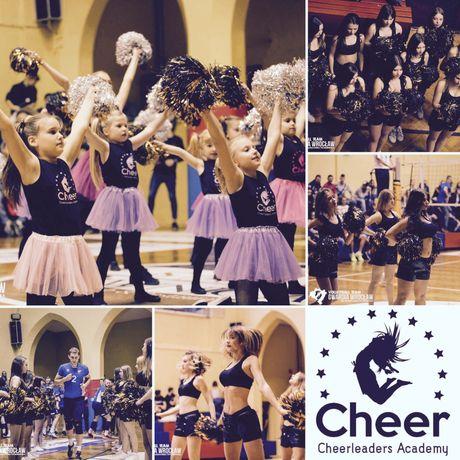 ZAPISY NA NOWY SEZON NA WRZESIEŃ 2021 do Cheerleaders Academy Oława