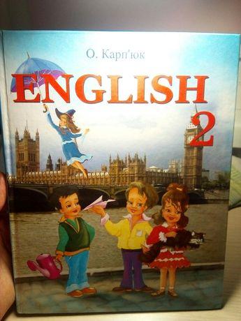 Учебник для 2-го класса по английскому языку О.Карпюк