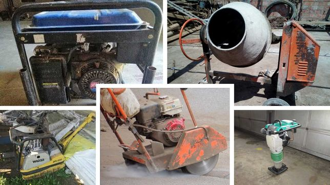 Reparação betoneiras e maquinas construção civil