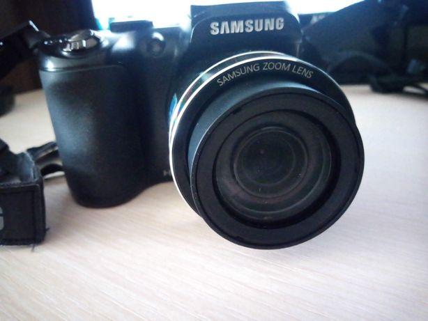 Фотоапарат Samsung WB100 Black (WB100ZBABRU) суперзум