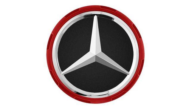 Zestaw dekielków (kołpaczków) do felg Mercedes AMG