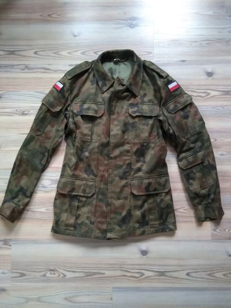 Mundur wojskowy -polowy -bluza i koszula roz. 178