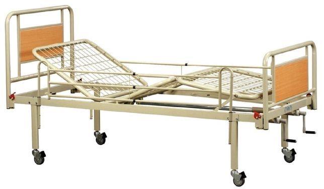 Ліжка з ручним регулюванням Модель 300-HC-LA