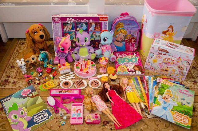 Zestaw zabawek dla dziewczynki №2 / Interaktywne kucyki MLP, Spike