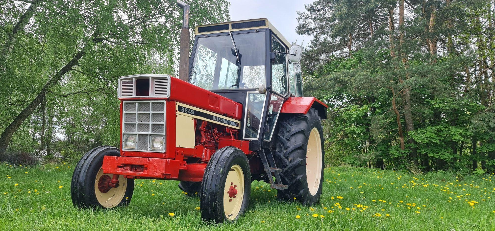Traktor ciągnik sprzedam zamienię International 844 S wspomaganie
