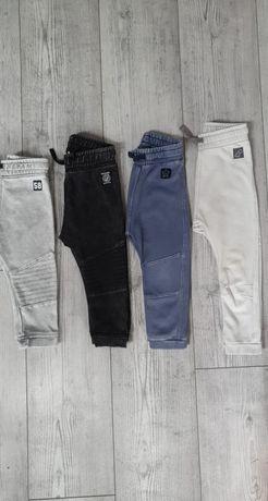Spodnie Jogerrsy przecierane 80,86,92 firmy h&m