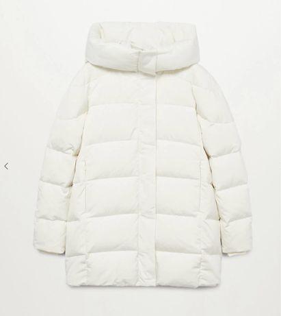 Zara mango пуховик, пухова куртка Mango M, L