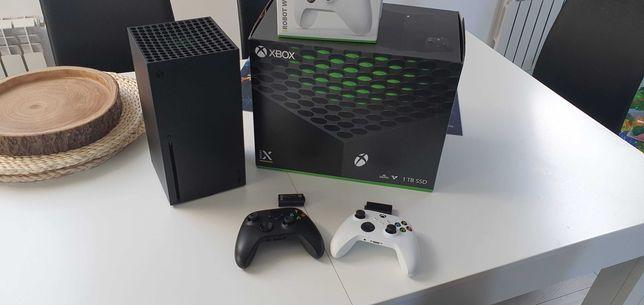 Xbox Sersies X + 2Pady + 2Akumulatory + 2Gry Gwarancja