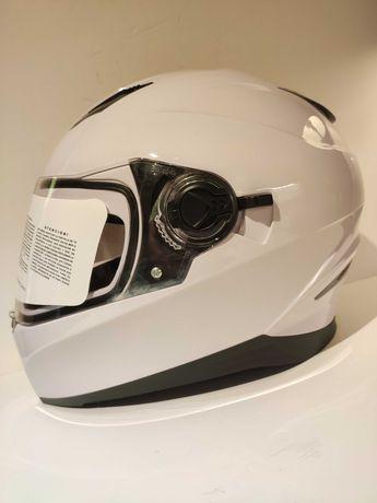 Capacete integral dupla viseira mota scooter novo