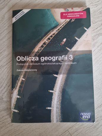 Oblicza geografii 3 nowa era podręcznik+ćwiczenia