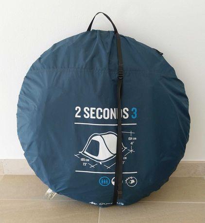 Tenda de campismo 2 seconds - 3 pessoas