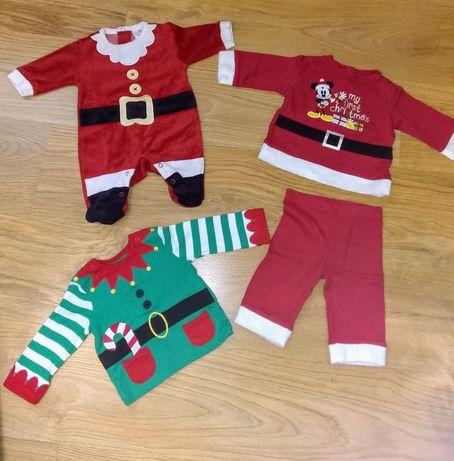 Продам новорічні костюми для немовлят