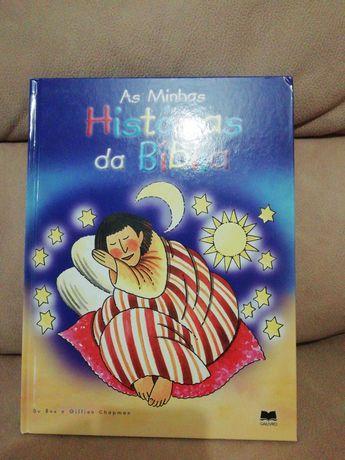 """Livro """"As minhas Histórias da Bíblia""""."""